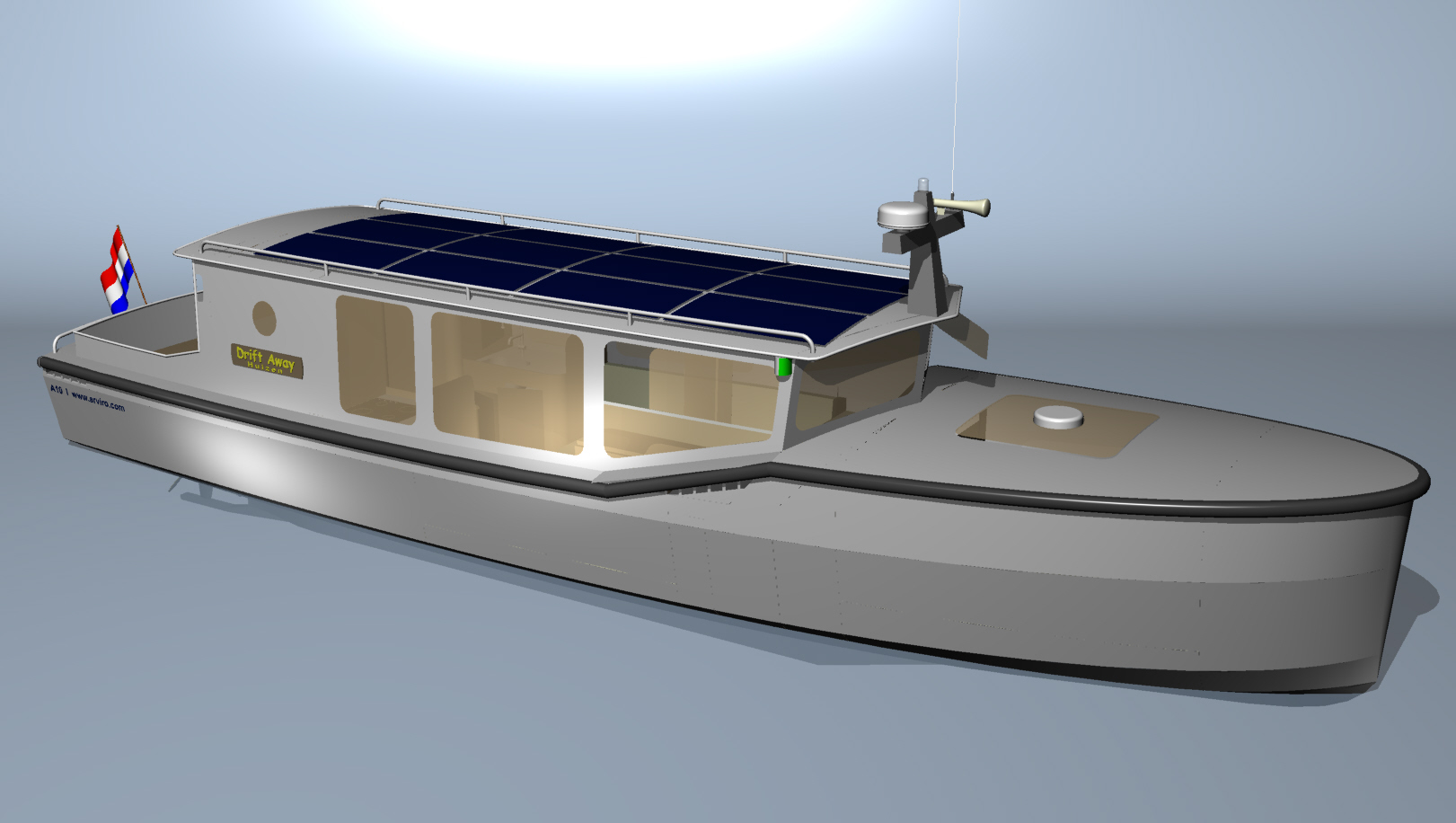 All electric & solar powered motorboat - Boat Design Forums